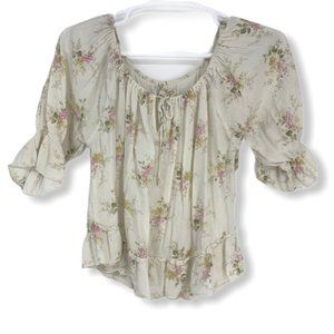 Denim & Supply Ralph Lauren Floral Boho Blouse XL